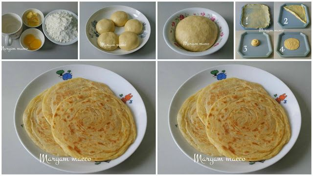 Modern.id: Resep Roti Maryam 7 Ribuan. Cukup Dengan 3 Bahan Saja