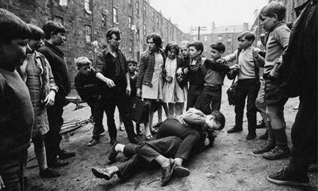 Street fight Glasgow