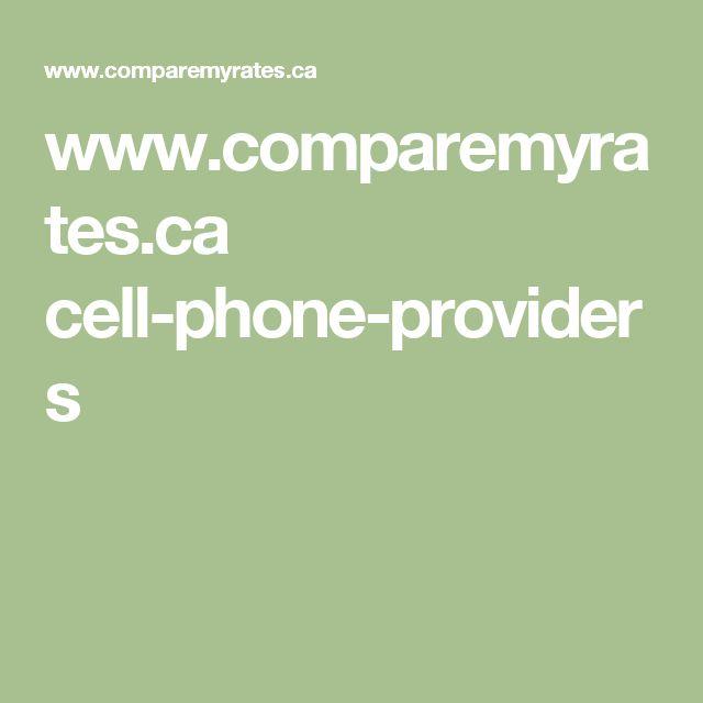 www.comparemyrates.ca cell-phone-providers