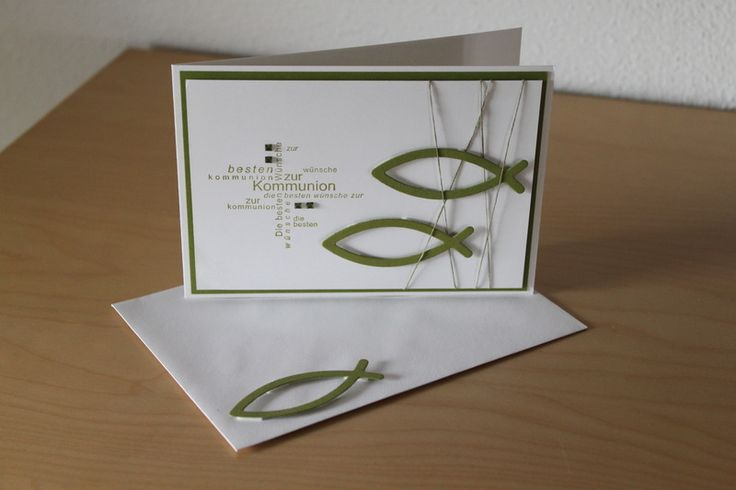 Not sure what it says, but good layout for baptism/communion/confirmation card.