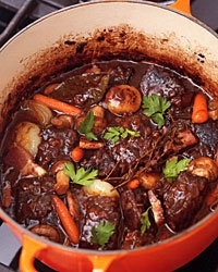 Lindaraxa: Spring Beef Stew In A Red Wine Sauce
