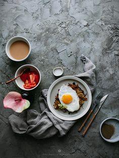 potato pancake with fried egg / Marta Greber