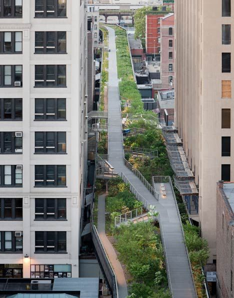 High Line Section 2 by Diller Scofidio and Renfro - This should happen in every city!