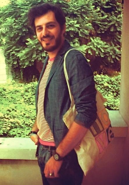 gaetano gaetano showroom manager department 5 with the bag nove