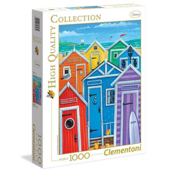 Clementoni, puzzle Rainbow beach huts -   Clementoni , tylko w empik.com: 19,99 zł. Przeczytaj recenzję Clementoni, puzzle Rainbow beach huts. Zamów dostawę do dowolnego salonu i zapłać przy odbiorze!