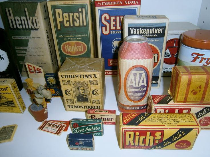 The Old Stuff to the Shop anno 1960.