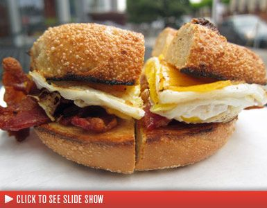 Hole Foods - Bagels Make Great Breakfast Sandwiches...