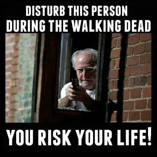 Walking dead risk your life
