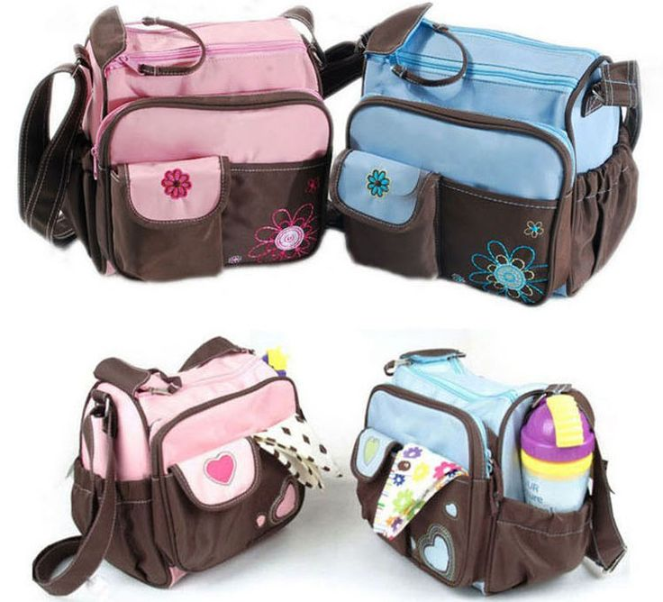 Portable Baby Changing Diaper Nappy Bag Mummy Mother Handbag 1 pcs small bag