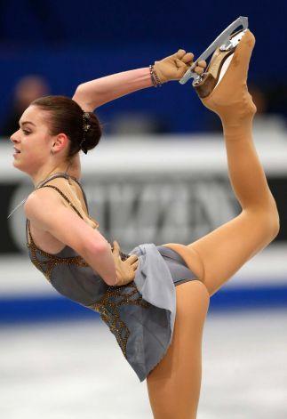 Russia's Adelina Sotnikova wins silver at Europeans.