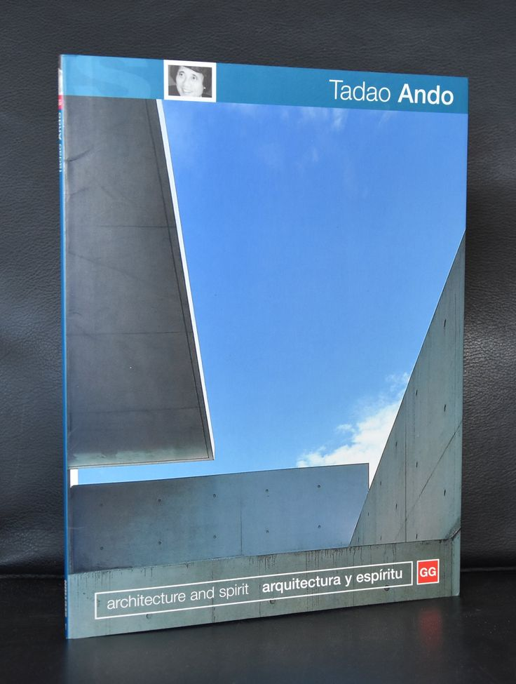 GG, Archtecture and Spirit # TADAO ANDO # 1998, mint-
