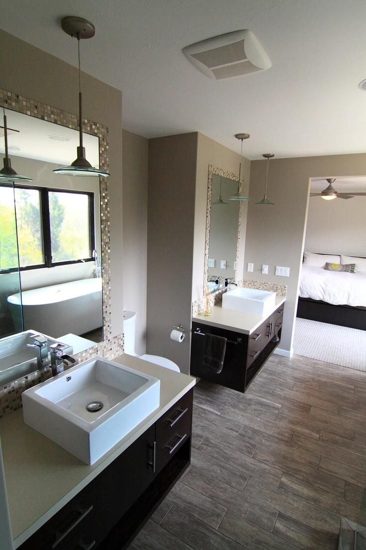43 best bathroom ideas images on pinterest bathroom ideas modern bathroom with floating vanities