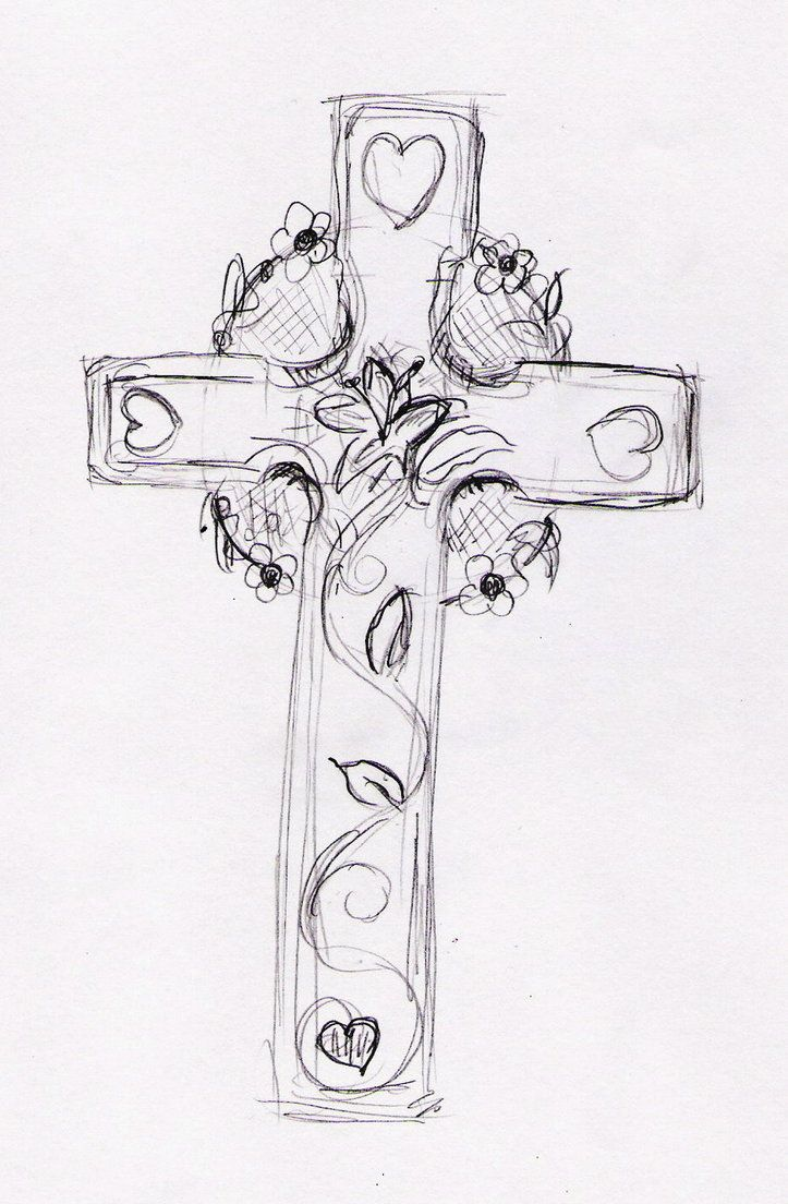cross tattoos for women | Feminine Cross Tattoo by pumibel on deviantART
