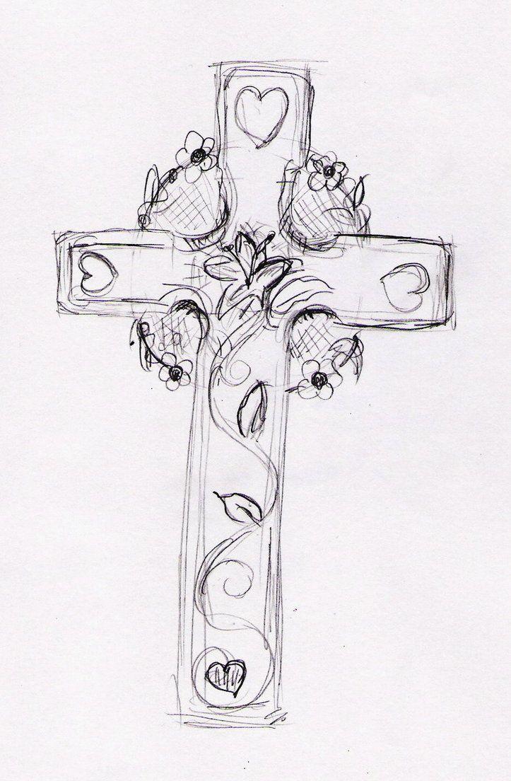 cross tattoos for women | Feminine Cross Tattoo by pumibel on deviantART