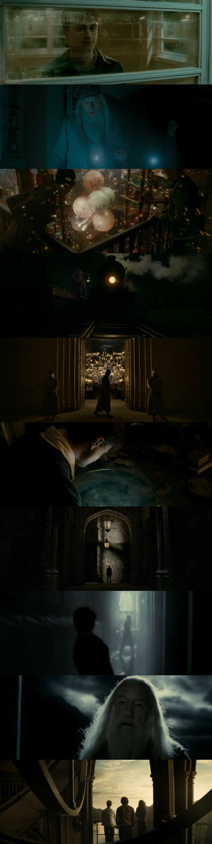 Harry Potter and the Half Blood Prince (2009) Director: David Yates. Photography: Bruno Delbonnel.