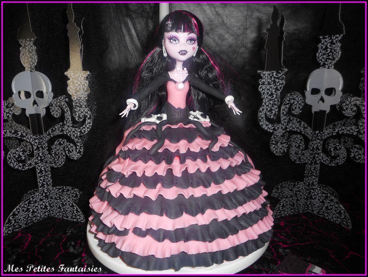 Gâteau Monster High : Draculaura !