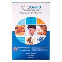 Mite Guard BAMBURY  Microscopic house dust mites live in our homes by the millions. Bedding is where most dust mites are found because moisture, temperature and human skin flakes provide optimal conditions for growth. Bambury's Mite-Guard is a proven allergy protective bedding system. It is a safe, air permeable, micron dust filter specifically developed as a barrier against dust mite allergies. Mite-Guard quilts, pillows, and mattress, quilt and pillow protectors create a barrier between…