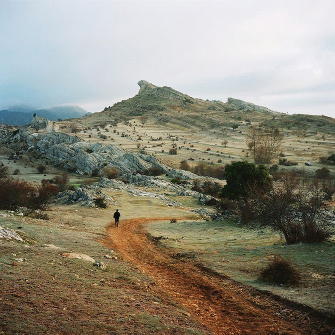 """""""I traveled ... to meet men and women who made the radical choice to live away from cities, willing to abandon their lifestyle based on performance, efficiency and consumption."""" Scrublands by Antoine Bruy."""