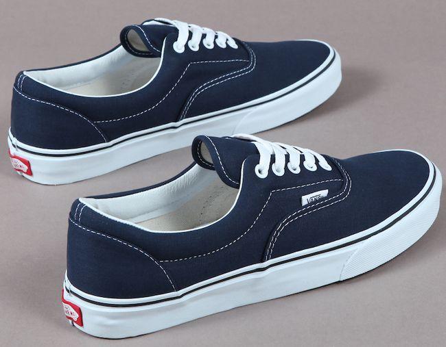 Vans Navy Blue