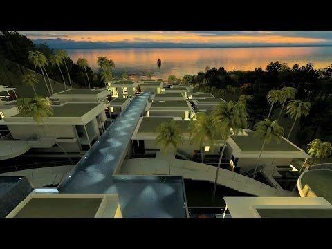 Nice villas @uluwatu-bali Majestic Water Village Teaser - YouTube