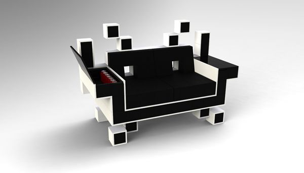 Young designer, Igor Chak, has come up with the concept behind the SPACE INVADER COUCH. The couch features fine leather that is displayed to resemble …