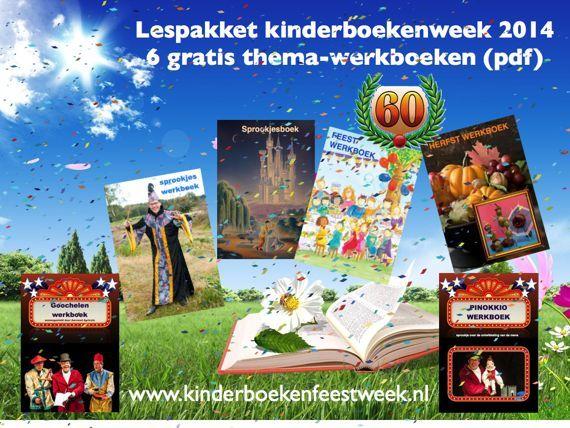 De kinderboekenweek 2014 staat in het teken van het thema feest onder het motto 'Lang zal je lezen'. Het lespakket van de goochelaar en buikspreker bestaat uit zes thema-werkboeken met werkbladen en lessuggesties. De onderstaande titels kunnen direct gratis worden gedownload als pdf.