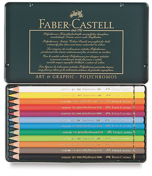 Faber-Castell Polychromos Oil-based Colored Pencils - Awesome pencils in a spectrum of 120 amazing colors. LOVE!!!