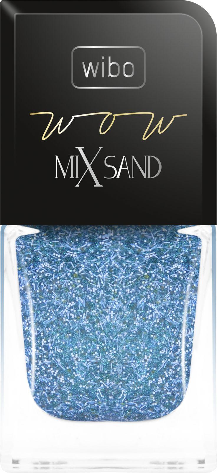lakier do paznokci WOW MIX SAND