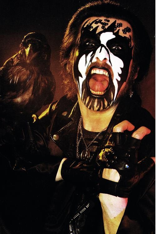 king diamond  poster by SYNDICATE69 on Etsy