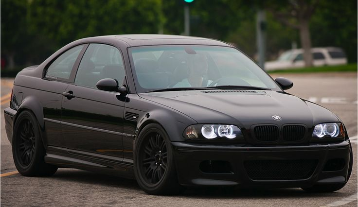 Bmw m3 blacked out