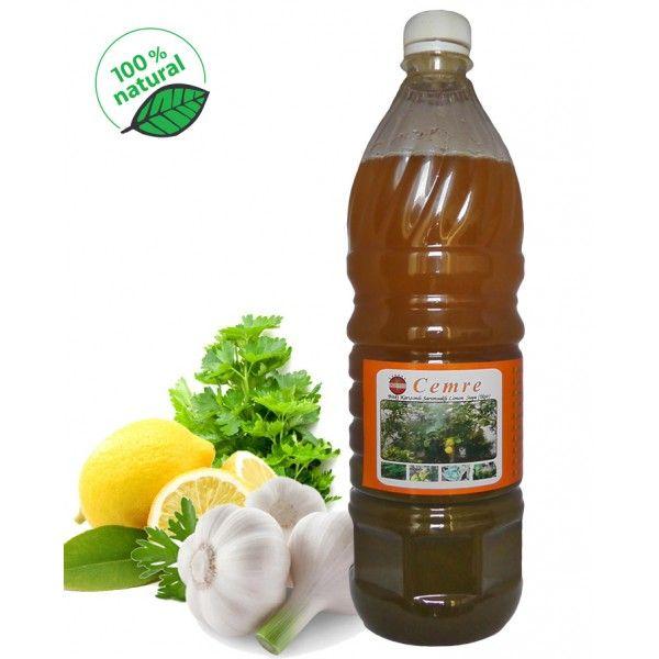 Cemre İksir (Bitki Karışımlı Sarımsaklı Limon Suyu) 1şişe 1 litre - Doğal Tedavi - İbrahim Gökçek - Alternatif Tıp - Bitkisel Ürünler - İksir - Alovera - Bitkisel Sağlık Ürünleri - Şifalı Bitkiler - Bitkisel Setler - Bitkisel İlaçlar - Herbalist İlaç Değil Bitkisel Gıda Takviyesidir. www.alternatiftip.com.tr