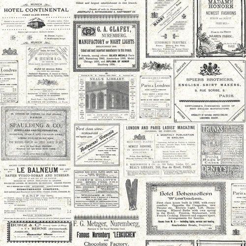 "York Wallcoverings 33' x 20.5"" Headline News Wallpaper - FUN! - 2 rolls needed - $117.80 trade"