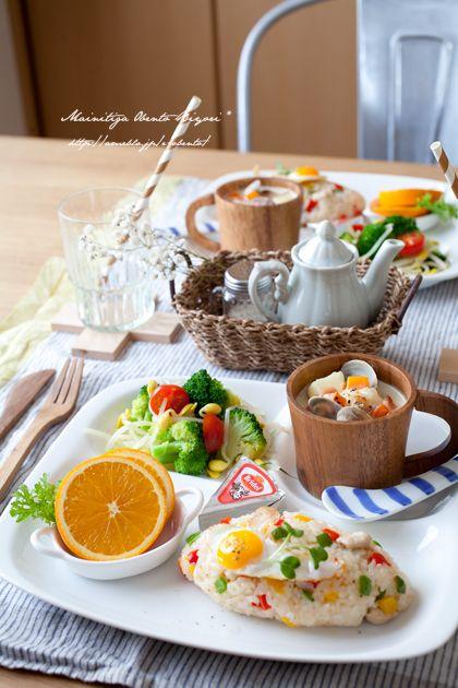 お子様プレートのお家ごはん。 |あ~るママオフィシャルブログ「毎日がお弁当日和♪」Powered by Ameba