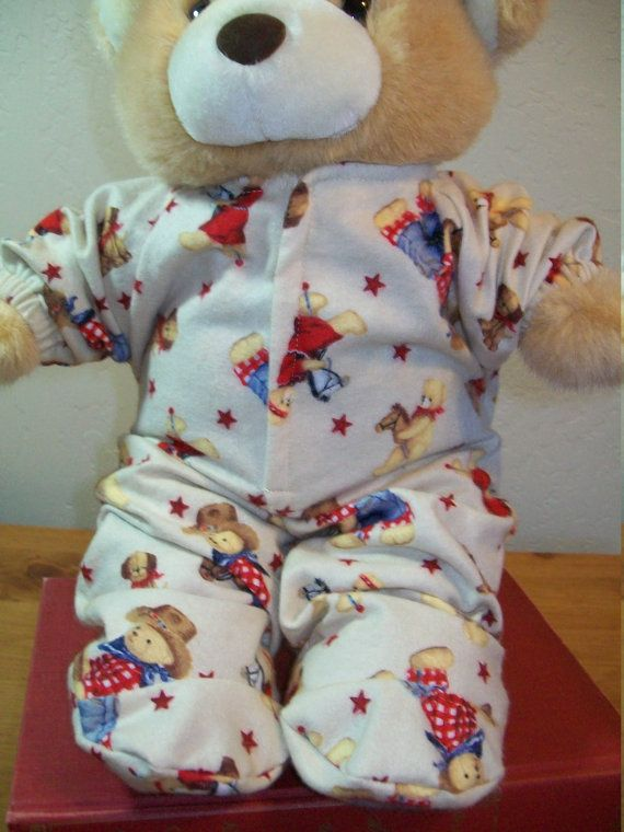 Cowboy Bear Sleeper for 18 Inch Cabbage Patch Baby Dolls and