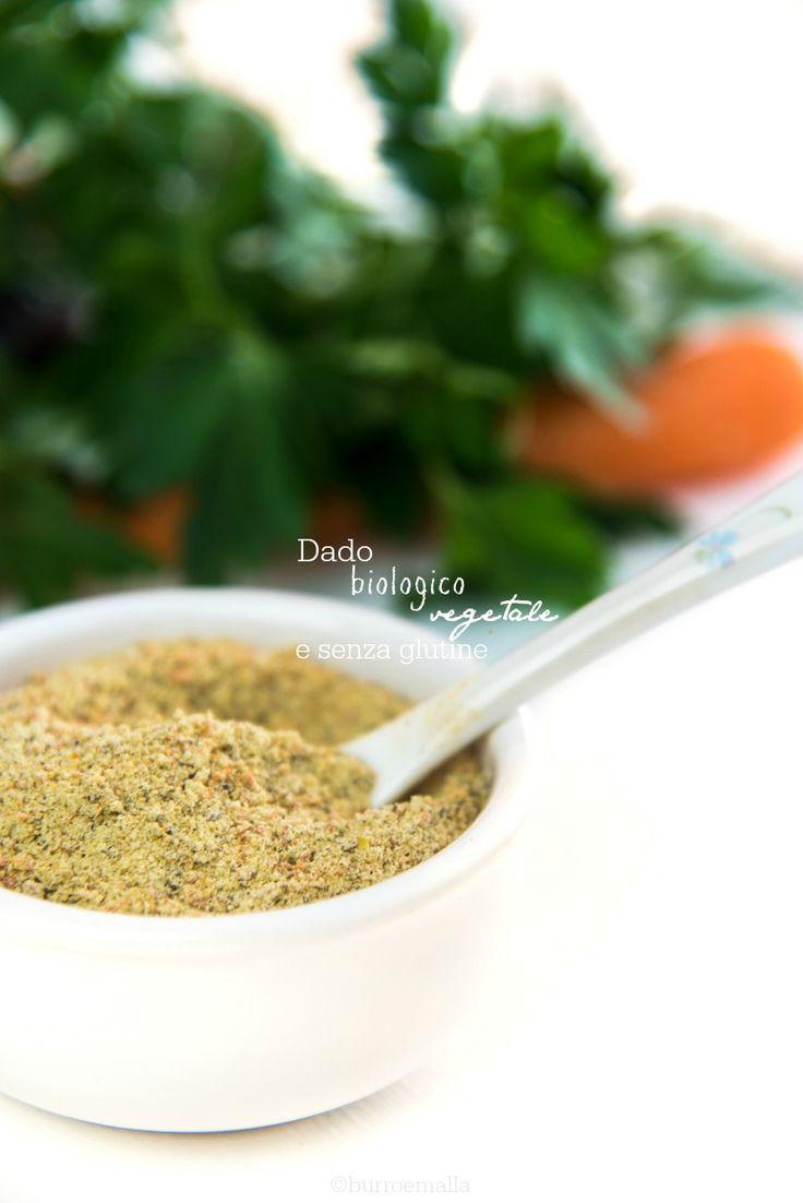 dado vegetale granulare: biologico e senza glutine