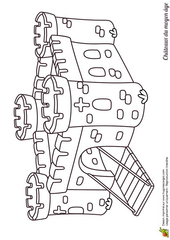 Les 25 meilleures id es de la cat gorie dessin chateau - Dessin moyen age ...