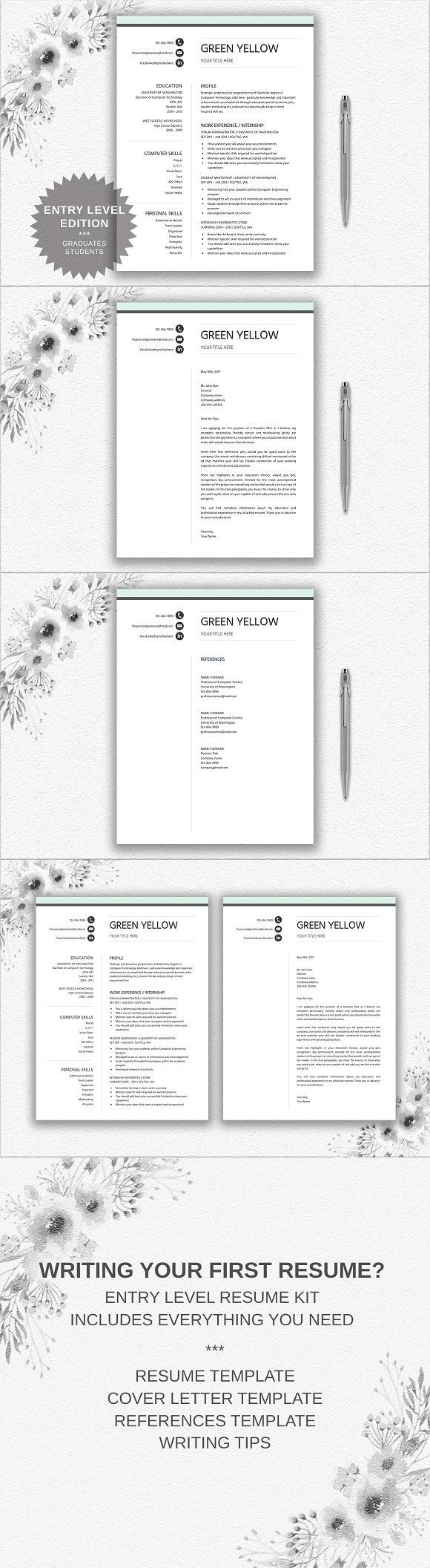 Resume Template Entry Level. Resume Templates