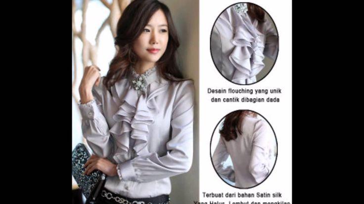 10 Model Baju Kerja Wanita Terbaru November 2014