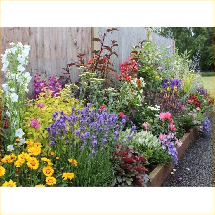 Awesome pretty cottage garden border ideas 15