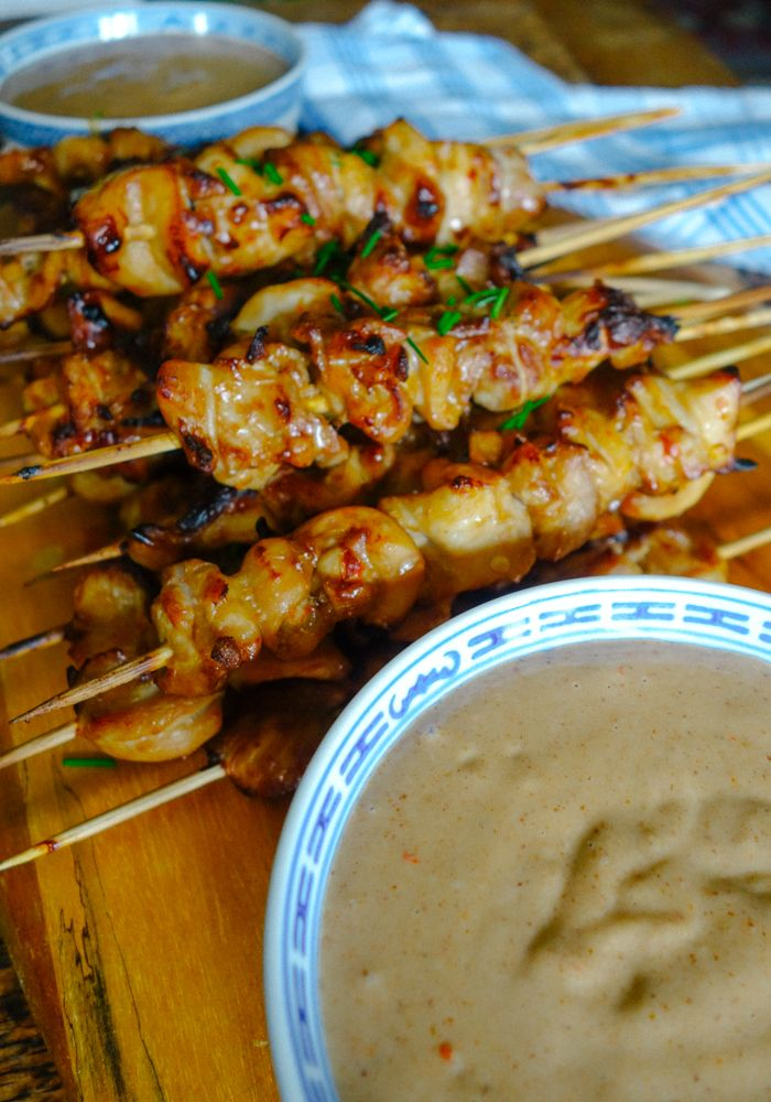 Easy Chicken Satay Recipe - The Londoner                                                                                                                                                                                 More