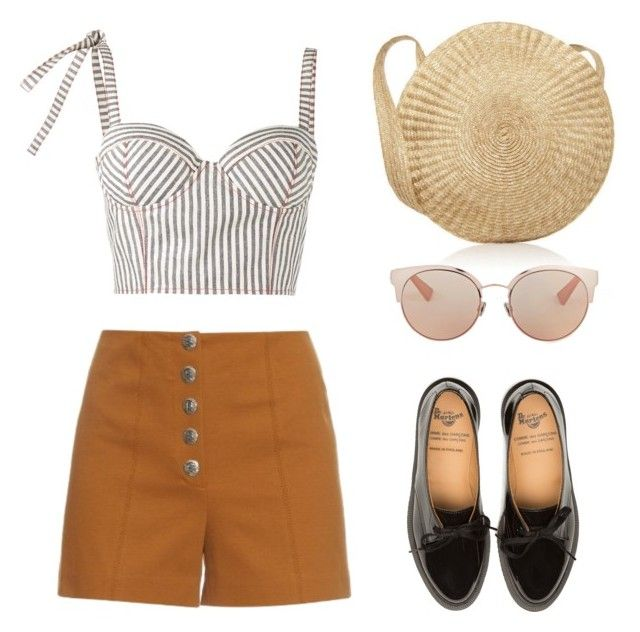 """""""Vintage Summer"""" by mariapauladiaz142 on Polyvore featuring Sonia Rykiel, Rosie Assoulin, Christian Dior and vintage"""