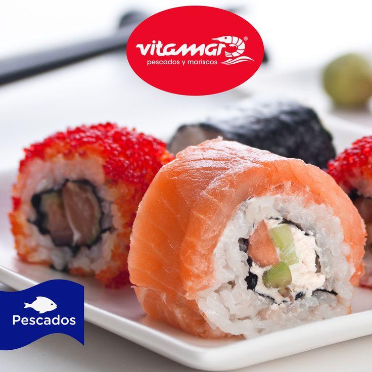#SabiasQue Como pescado, el sushi nos aporta pocas calorías. Recordemos que el pescado blanco, como el pargo rojo o la lubina, nos aportan menos de 100 calorías cada 100 gramos.