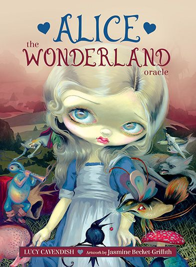 Alice: The Wonderland Oracle - cards illustrated by Jasmine Becket-Griffith. This looks like it will be a whimsical, delightful oracle filled with the wit and wisdom of Wonderland - it includes a 45-card deck and 132-page guidebook and will be released on 8 Sep 2018.