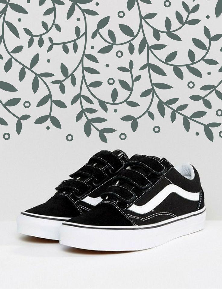 chaussure vans fille noir scrath