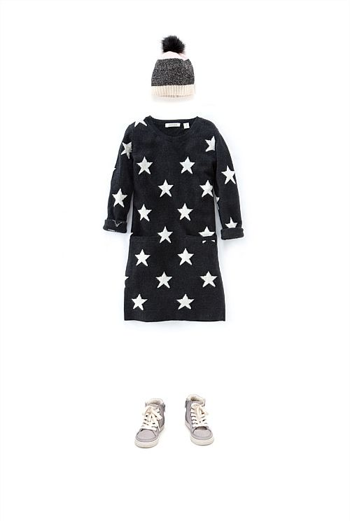 Star Knit Dress