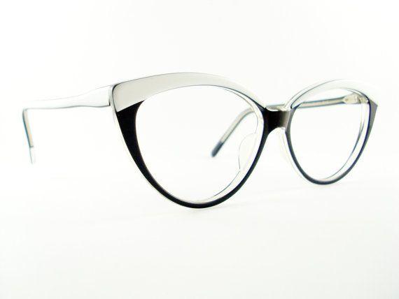 Vintage Jean Lafont Paris Glasses Frame Cat Eye Glasses