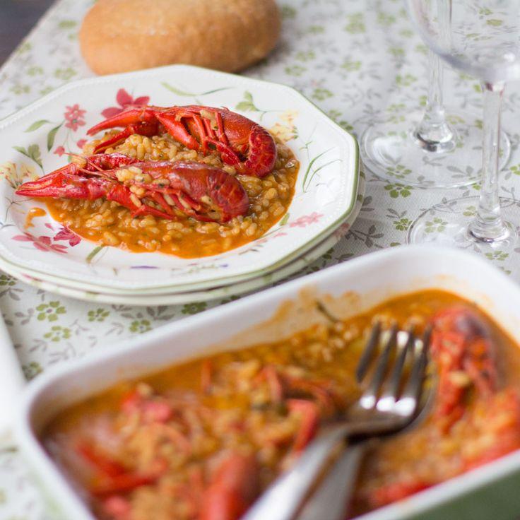 """Cómo preparar arroz con cangrejos de río con Thermomix Pero qué contenta estoy! Thermomix ha sacado en su plataforma una nueva colección de recetas de cocina """"Ligeras para dos"""" que me viene fenomenal"""