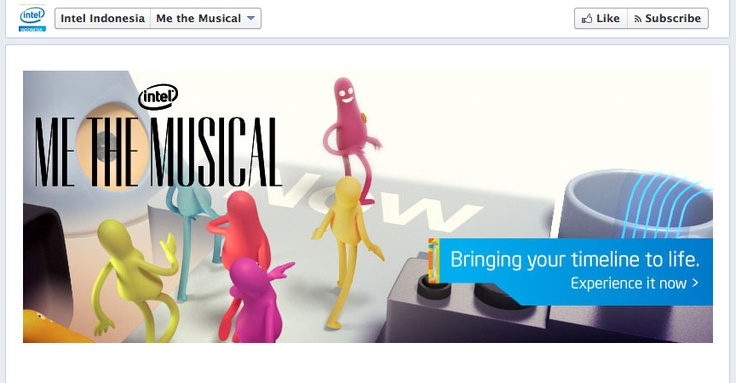 Me The Musical - Intel Indonesia  » http://www.facebook.com/IntelIndonesia/app_187331711395348  » http://www.intel.com/musical/l/index.htm