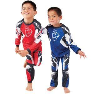 Thor Motocross Youth Spiral Pajamas