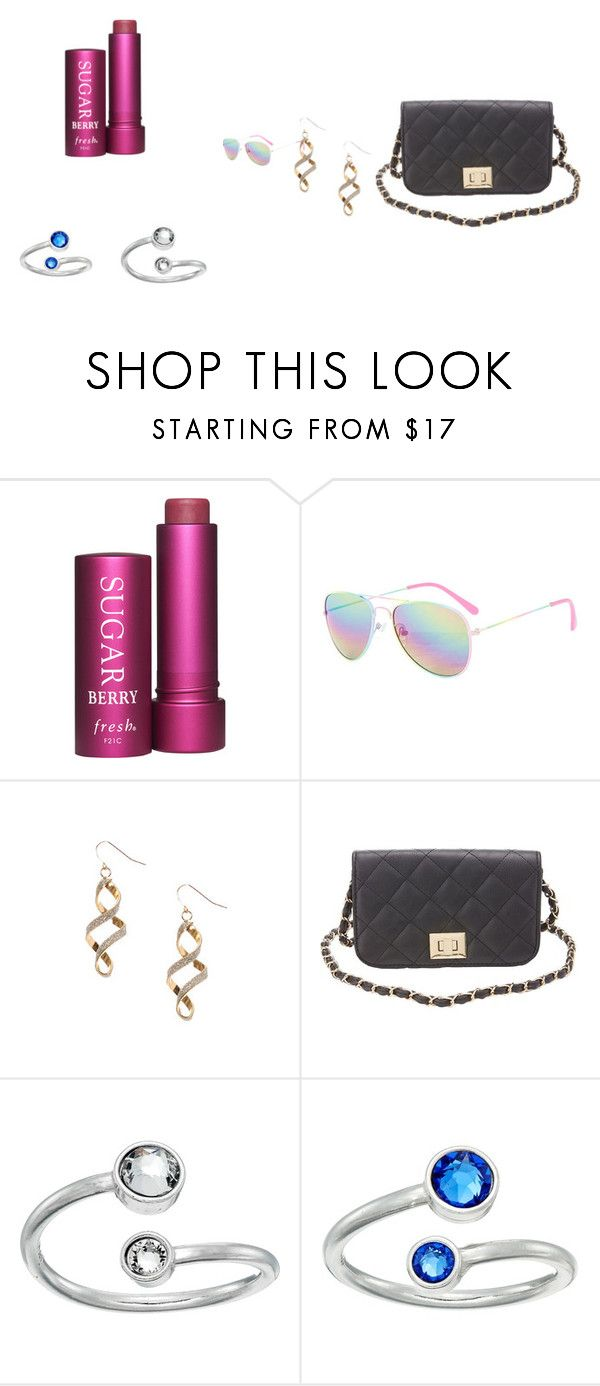 """mall haul! :)"" by lindsayxoxo2004 ❤ liked on Polyvore featuring Fresh, claire's, Charlotte Russe and Alex and Ani"